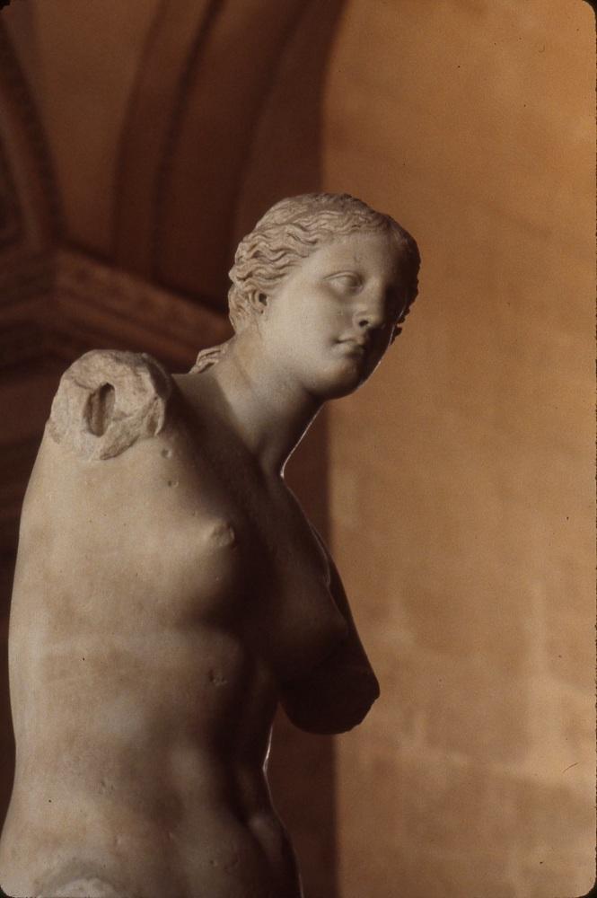 Venus de Milo, Goddess of Love and Beauty.