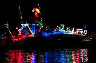 Boat-along in Cape Coral.  News-Press photo