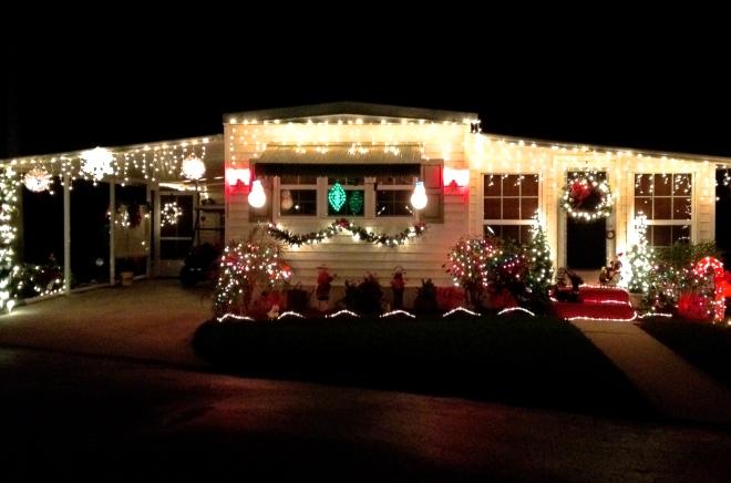 """Connie's House, Christmas, 2012 "" Tropicana Park, by Edward Pratt."