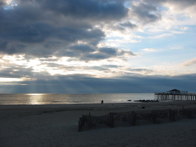 Ocean Grove, New Jersey.  Winter. By Paul Goldfinger. Copyright