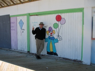 This is me, clowning around.