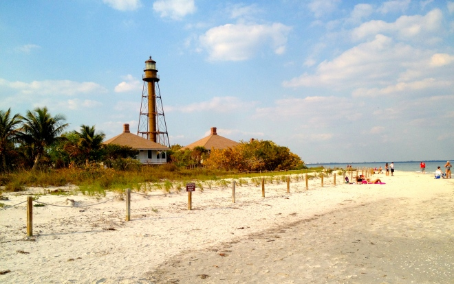 The Sanibel Lighthouse. 2012. Paul Goldfinger photo